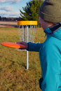 Disc golf Royalty Free Stock Photo