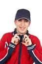 Disc jockey Royalty Free Stock Photo