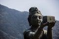 Disciple of Big Buddha Royalty Free Stock Photo