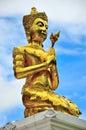 Disciple of Buddha Royalty Free Stock Photo