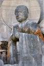 Disciple of Shakyamuni Buddha Royalty Free Stock Photo