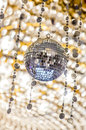 Disco ball light reflection background Royalty Free Stock Photos