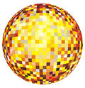 Disco ball. Vector illustration Royalty Free Stock Photography