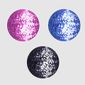 Disco balls Royalty Free Stock Photos