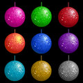 Disco balls Royalty Free Stock Photo