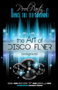 Disco Club Flyer Template for your Music Nights Event. Royalty Free Stock Photo