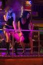Disco club noc Zdjęcia Stock