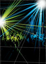 Disco Crowds Stock Photography