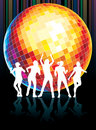 Disco dance Royalty Free Stock Photography