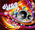 Disco Dance Background Royalty Free Stock Photo