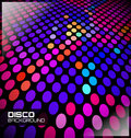 Disco Dotted Background Royalty Free Stock Photo