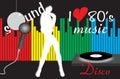 Disco fever Royalty Free Stock Photo