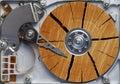 Disco fisso molto vecchio Fotografie Stock Libere da Diritti