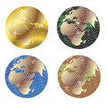 Disco globes Stock Image