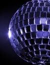 Disco hued balowa blue Zdjęcia Royalty Free