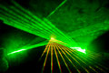 Disco and laser show Royalty Free Stock Photos