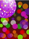 Disco light (vector) Stock Images