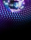 Disco mirror ball Royalty Free Stock Photo