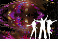 Disco people Royalty Free Stock Photography