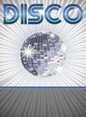 Disco poster Stock Photo