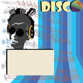 Discoteque fl-yer Royalty Free Stock Images