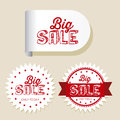 Discount labels Royalty Free Stock Photo
