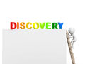 Discovery concept d clip art of Royalty Free Stock Photos