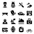 Discovery , Traveling , Camping , Adventure icons set