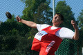 Discus throw Royalty Free Stock Images