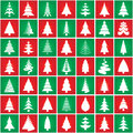 Diseño de la silueta del concepto del árbol de navidad. Vector. Fotografía de archivo libre de regalías