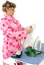 Disgruntled Housewife Royalty Free Stock Image