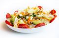 Dish of fresh mix salad Royalty Free Stock Photo