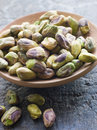 Dish of Pistachio Nuts Stock Photography
