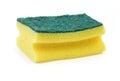 Dish washing sponge Royalty Free Stock Photo