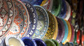 Dishes in the colorful markets of the East Royalty Free Stock Photo