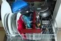 Dishwasher Royalty Free Stock Photo