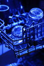Dishwasher a photograph of glasses in Royalty Free Stock Image