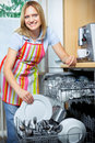 Dishwashing Royalty Free Stock Photography