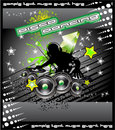 Disk Jockey Music Background Royalty Free Stock Image