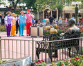 Disney Barbershop Quartet. Royalty Free Stock Photo