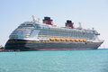 Disney Dream, a new cruise ship Stock Images