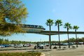 Disney monorail the disneyland was the first transportation system of its kind in america it was based on a system built by the Stock Images