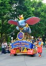 Disney parade, Hong Kong Stock Images