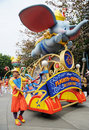 Disney parade in Hongkong Stock Photography