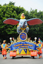 Disney parade in Hongkong Stock Photos