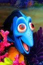 Disney pixar finding nemo character dory the blue fish from movie Stock Images