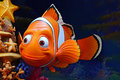 Disney pixar finding nemo character marlin the famous from movie Royalty Free Stock Photo