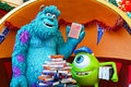 Disney pixar monsters characters famous from movie inc james p sulley sullivan and his one eyed assistant and best friend mike Royalty Free Stock Image