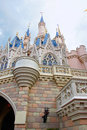 Disney's Cinderella castle Royalty Free Stock Images