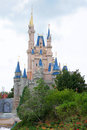 Disney's Cinderella castle Stock Images